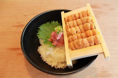 うに一枚丼 ¥3,300