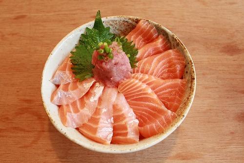 サーモン丼 ¥1,600
