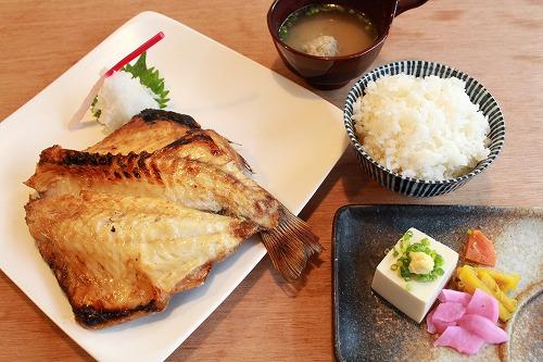 ツボ鯛焼定食 ¥1,500